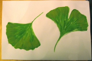Leaf Walk: Gingko Leaves