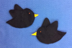 Black Birds / Black Bats pattern