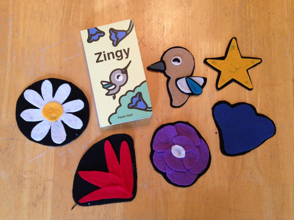 Zingy Flannelboard