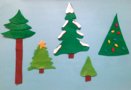 Holiday Pine Trees