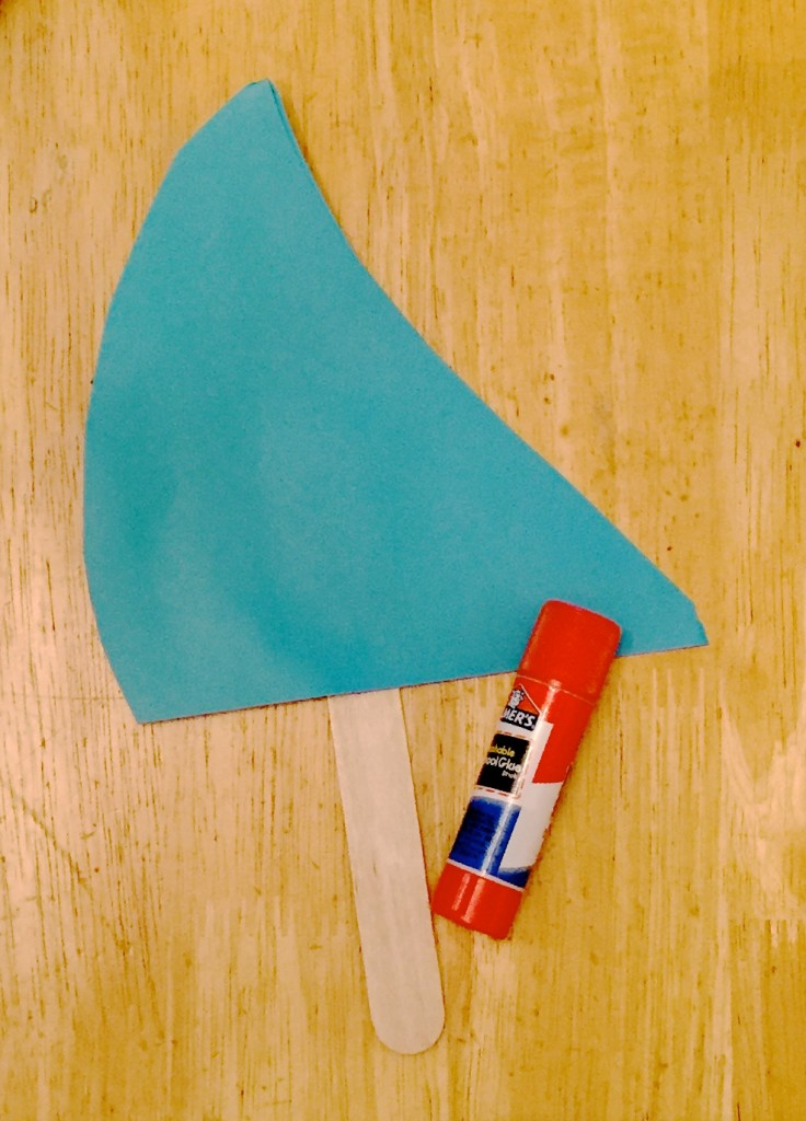 Shark Fin Pop Stick