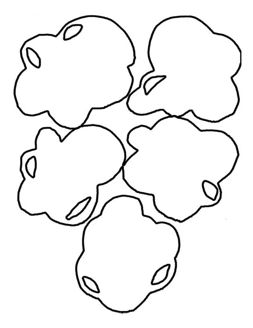 popcorn coloring pages print - photo#18